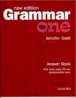 New edition Grammar One Teachers Book
