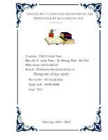 Giới thiệu với du khách nước ngoài về văn miếu quốc tử giám khi học english 9  unit 1  a visit from a pen pal