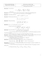 bộ đề thi thử vào lớp 10 môn toán các tỉnh trong cả nước có đáp án