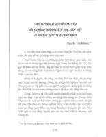 Báo cáo khoa học Giáo sư tiến sĩ Nguyễn Tài Cẩn với sự hình thành cách đọc Hán Việt và những thảo luận tiếp theo