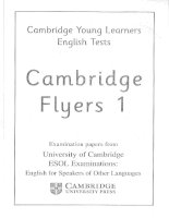 Cambridge Flyers 1