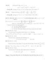bài tập đại số tổ hợp và xác suất luiyện thi đại học