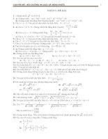 Bài tập bồi dưỡng học sinh giỏi toán lớp 9
