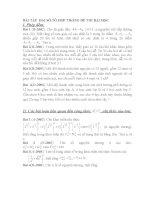 bài tập tổ hợp xác suất trong đề thi đại học
