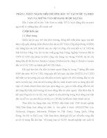 GIẢI PHÁP HOÀN THIỆN VÀ PHÁT TRIỂN CƠ SỞ HẠTẦNG THEO HƯỚNG HIỆN ĐẠI NHẰM CẢI THIỆN MÔI TRƯỜNGĐẦU TƯ TẠI VIỆT NAM