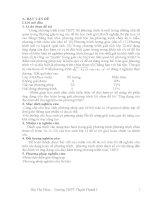 phương pháp hàm số giải phương trình