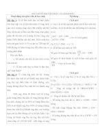 Bài tập về nguyên phân và giảm phân