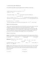 Phương pháp giải bài tập kim loại