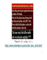 CHƯƠNG 4 VI SINH VẬT VÀ ỨNG DỤNG - MỘT SỐ LỢI ÍCH CỦA VI SINH VẬT TRONG NÔNG NGHIỆP VÀ THỰC PHẨM