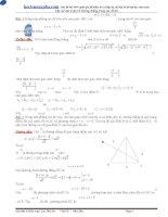 Tuyển tập các bài toán về đường thẳng hệ oxy trong các đề thi