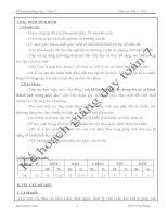 Kế hoạch giảng dạy toán 7