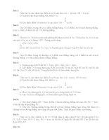 Bài tập hình học lớp 6 nâng cao
