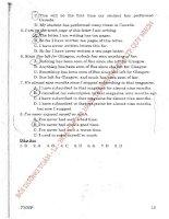 PHƯƠNG PHÁP làm bài tập TRẮC NGHIỆM NGỮ PHÁP TIẾNG ANH THPT-  NGUYỄN bảo TRANG part 2