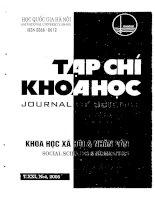 Báo cáo Phong trào Đông Du trong tiến trình cách mạng giải phóng dân tộc Việt Nam và trong quan hệ văn hoá, giáo dục Việt Nam - Nhật Bản