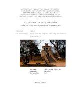 bài dự thi kiến thức liên môn tên đề tài giới thiệu về di tích lịch sử gò đống đa