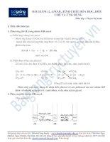 Tính chất hóa học, điều chế và ứng dụng ancol