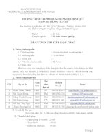Đề cương chi tiết học phần: Kế toán tài chính doanh nghiệp học phần 4 (bậc cao đẳng)