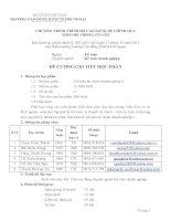 Đề cương chi tiết học phần: Kế toán tài chính doanh nghiệp học phần 2 (bậc cao đẳng)