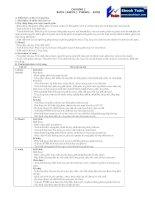 Lí thuyết và bài tập chương rượu - phenol - amin