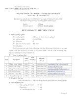 Đề cương chi tiết học phần: Kế toán tài chính doanh nghiệp học phần 1 (bậc cao đẳng)