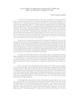 Báo cáo VƯƠNG TRIỀU LÝ TRONG BỐI CẢNH LỊCH SỬ, CHÍNH TRỊ KHU VỰC ĐÔNG BẮC Á THẾ KỶ XI - XIII
