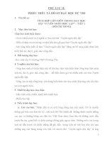 bài dự thi dạy học tích hợp liên môn trong dạy học bài tuyên ngôn độc lập của hồ chí minh