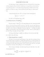 Những dạng vô định trong toán tìm giới hạn của hàm số