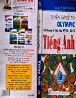 tuyển tập đề thi olympic 30 tháng 4 lần thứ 18 2012 tiếng anh phần khối 11 part 1