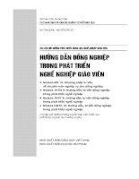 Module MN 13 phương pháp tư vấn về chuyên môn nghiệp vụ cho đồng nghiệp