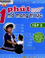 Sách rèn luyện năng lực tư duy dành cho trẻ 3 tuổi