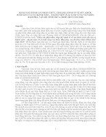 KHẢO SÁT ĐÁNH GIÁ NHẬN THỨC, THÁI ĐỘ, HÀNH VI VỀ SỨC KHỎE  SINH SẢN CỦA VỊ THÀNH NIÊN  THANH NIÊN 1524 TUỔI VÙNG VEN BIỂN, ĐẦM PHÁ, VẠN ĐÒ TỈNH THỪA THIÊN HUẾ NĂM 2010