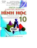 phần loại và phương pháp giải hình học 10