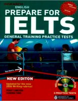 Insearch English prepare for IELTS general training practice tests