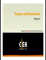 Báo cáo An ninh mạng- Bản tin bảo mật (trojans and backdoors)