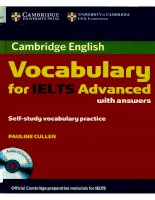 Cambridge Vocabulary for IELTS Advanced Book