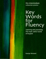 1 key words for fluency pre intermediate
