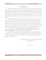HOẠT ĐỘNG QUẢN TRỊ NHÂN SỰ CÔNG TY CỔ PHẦN 32- Xí nghiệp 1