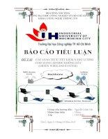 Tìm hiểu các giao thức tiết kiệm năng lượng mạng Adhoc Wireless