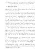 QUẢN LÝ SỬ DỤNG TRANG THIẾT BỊ DẠY HỌC Ở TRƯỜNG THPT PHƯỚC THIỀN  NĂM HỌC 20122013