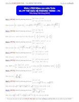 Luyện thi đại học môn toán phương pháp thế giải hệ phương trình phần 1 Thầy Đặng Việt Hùng