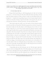SÁNG KIẾN KINH NGHIỆM  NÂNG CAO CÔNG TÁC PHỐI HỢP GIỮA NHÀ TRƯỜNG VỚI TỔ CHỨC CÔNG  ĐOÀN TRONG VIỆC TRIỂN KHAI THỰC HIỆN CÔNG TÁC THI ĐUA KHEN THƯỞNG TẠI CƠ SỞ
