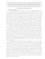 SÁNG KIẾN KINH NGHIỆM  PHÁT TRIỂN NĂNG LỰC TƯ DUY, SÁNG TẠO CỦA HỌC SINH BẰNG PHƯƠNG PHÁP DẠY HỌC TÍCH HỢP LIÊN MÔN Ở MÔN LỊCH SỬ TRƯỜNG THPT SÔNG RAY