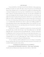 Áp dụng án treo trong xét xử các vụ án hình sự ở Tòa án nhân dân thành phố Long Xuyên – Thực trạng và giải pháp