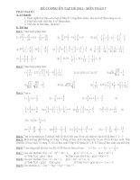 Bài tập hè cho học sinh lớp 7 ( Đại số )