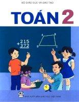 Sách giáo khoa toán lớp 2  NXB giáo dục việt nam