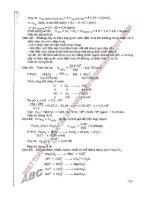Giải nhanh 25 đề thi môn hóa học theo cấu trúc đề thi của bộ giáo dục và đào tạo   cù thanh toàn part 2