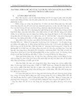 Sáng kiến kinh nghiệm  DẠY HỌC THEO CHỦ ĐỀ VÀ SỰ VẬN DỤNG NÓ VÀO GIẢNG DẠY PHẦN  PHƯƠNG TRÌNH LƯỢNG GIÁC