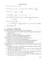 Hướng dẫn giải nhanh các dạng bài tập trắc nghiệm vật lý tập 1 hoàng anh tài part 2