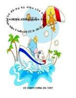 Giáo án tháng 4 chủ đề sự kì diệu của nước và thiên nhiên quanh bé
