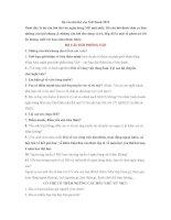 Bộ câu hỏi phỏng vấn vào MB bank 2015